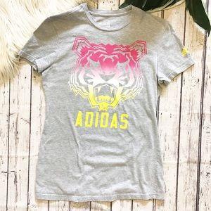 ADIDAS Tiger Mascot go to tee women's medium